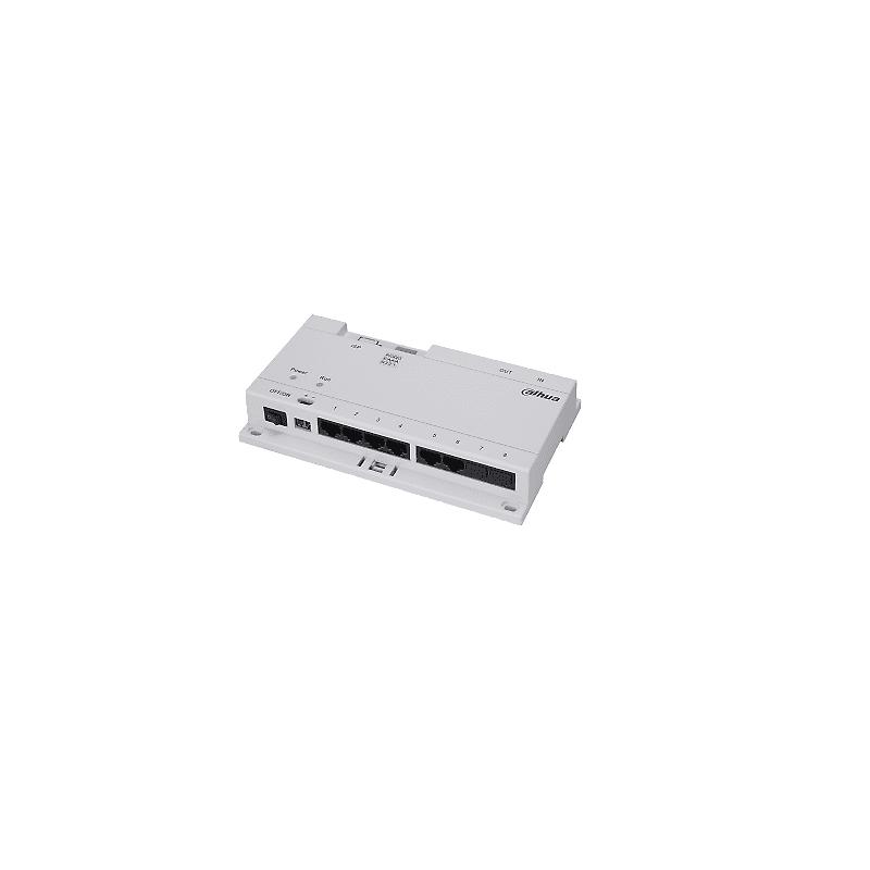 Dahua – VTNS1060A-A – Switch 6 porte PoE + 2 porte LAN