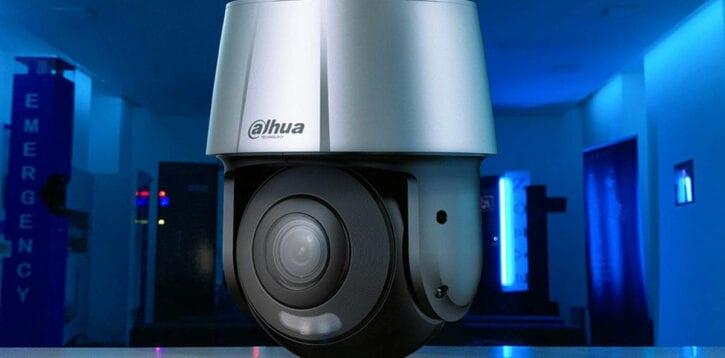 Dahua – PTZ AI con deterrenza attiva