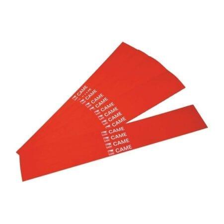 Came - 001G02809 - Strisce rosse rifrangenti adesive per aste Gard