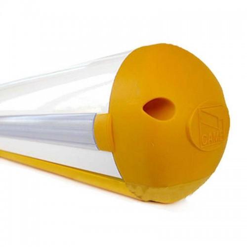 Came - 001G03750 - Asta tubolare 4m. a sezione semi-ellittica in alluminio