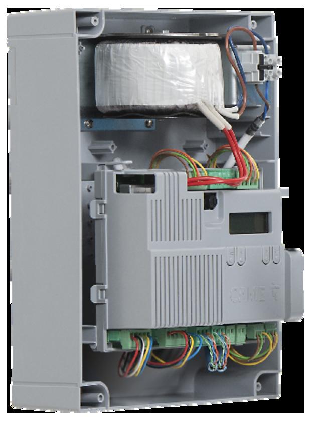 CAME ZLX24 il quadro comando universale per motori a 24 V per cancelli a battente